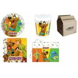 Procos IRPot - KIT N.16 COORDINATO COMPLEANNO BAMBINO SCOOBY DOO