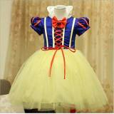YEESN Bambina Bambina Biancaneve Principessa Halloween Party Dress Abbigliamento Carnevale Cosplay Costume