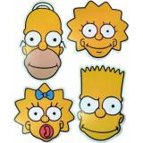 Great Value Multipacks The Simpsons - MULTIPACK - 4 Card Face Masks