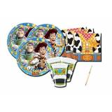 AMSCAN IRPot - KIT N 2 COORDINATO COMPLEANNO TOY STORY