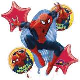 Amscan Ultimate Spider-Man compleanno Bouquet stagnola Balloons