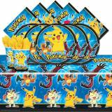 Balloons and Party Pokemon Pikachu & Friends Birthday Party Tableware Pack for 16 by Balloons and Party