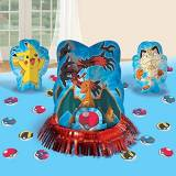 AMSCAN Pokemon 'Pikachu and Friends' Table Decorating Kit (23pc) by Amscan