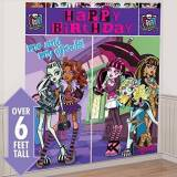 Monster Cable Amscan - Decorazione Parete Happy Birthday Monster High