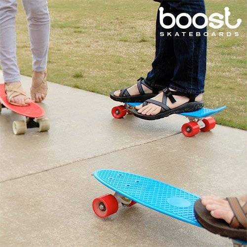Bigbuy Skateboard Fish Boost Board (4 ruote)