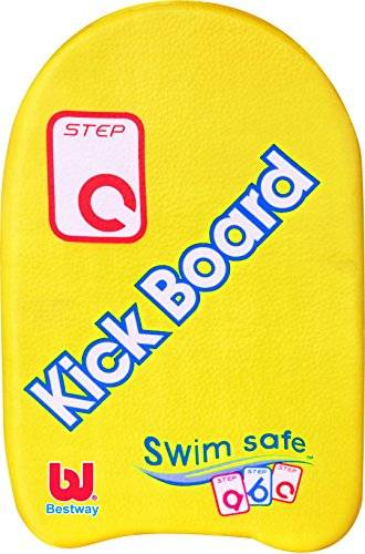 Bestway 32032 - Tavoletta Rigida Swim Safe Abc Step C, 43 x 30 cm, Giallo