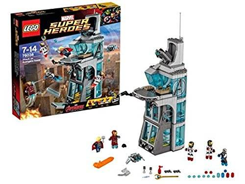 Marvel LEGO Super Heroes 76038 - Attack on Avengers Tower