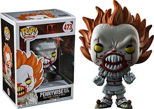 Funko POP! Film Stephen King's IT Pennywise # 473 (Con i denti)