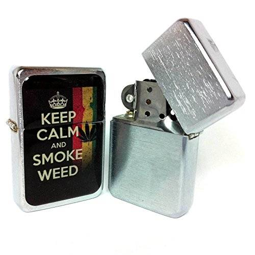Music Legend Collection Accendino tipo zippo - KEEP CALM