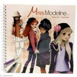 Avenue Mandarine - Blocco con costa a spirale, motivo: Miss Modeline Fashion Autumn, multicolore