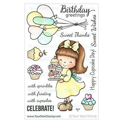 Your Next Stamp La casella accanto Stamp Timbro Clear Stamps 4