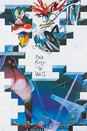empireposter 717887 Pink Floyd – The Wall film – Musica, Maxi Poster, stampa, Poster, carta, multicolore, 91.5 x 61 x 0.14 cm