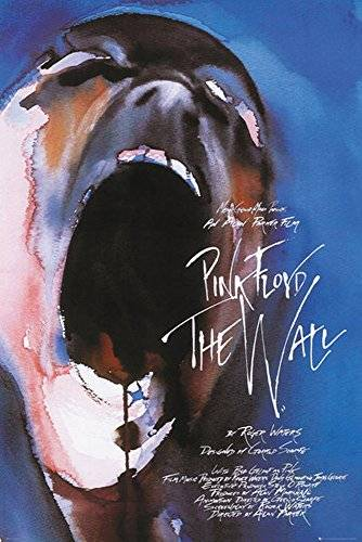 empireposter 740601 Pink Floyd – The Wall – Film – Face – Musica Poster Classic Rock, carta, multicolore, 91,5 x 61 x 0,14 cm