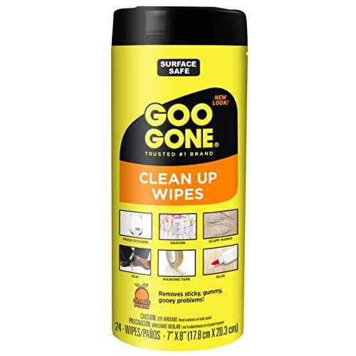 Goo Gone Tough Task Wipes, 24count