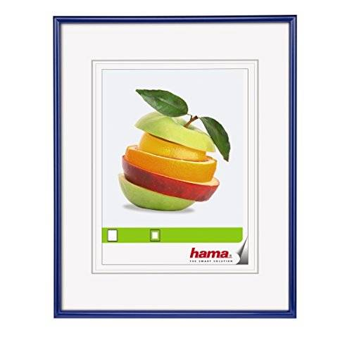 Hama 00066311 Blue picture frame - picture frames (Plastic, Blue, 13 x 18 cm, 200 mm, 300 mm)