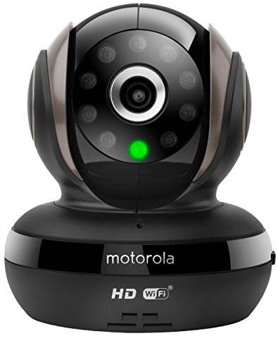 Motorola scout83 Wi-Fi HD PET Monitor Nero
