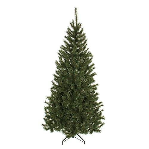 Black Box Trees 382977 Kingston Pine albero di Natale artificiale PVC/Hard Needle verde 117 x 117 x 215 cm