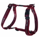 Rogz Armed Response imbracatura cuore rosso 25mm