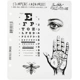 Stampers Anonymous Tim Holtz Cling timbro Set-stranezze
