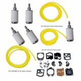 ouyfilters carbure Tor Rebuild Kit Gasket Diaphragm K10di Wat with Fuel Filters 4Feet Fuel Line for WALBRO Carb Stihl Husqvarna McCulloch Echo Chainsaw Edger Trimmer