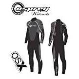 "OSX OSPREY Mens OSX Full Wetsuit Chest 42"" 186-190cm (Black/White)"