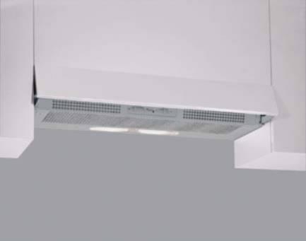 Whirlpool PH AKR600GY Cappe Integrate Metallo Argento 15x59.9x37.6 cm