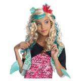 Monster Cable Parrucca Lagoona Blue Monster High ragazza Taglia Unica