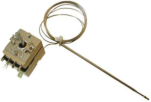 Fixapart W4-41338 Brass,Silver thermostat - Thermostats (Brass, Silver, 50-320 °C)
