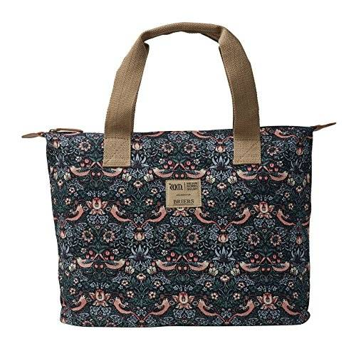 Briers Ltd Strawberry Thief Cotton Borsa a Spalla, Multi-Colour, 5.69 x 32.27 x 23.75 cm