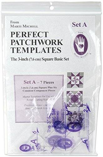 Marti Michell Perfect Patchwork Template-Set A 3