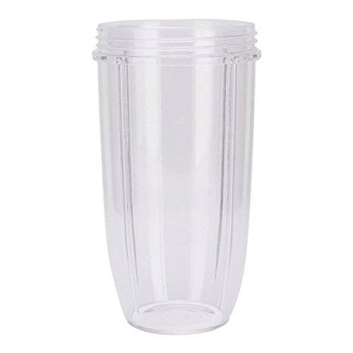 yazi Sunfire 32 OZ Large Cup Replacement Clear Mug for Nutri Bullet Blender Juicer Mixer Spare Part by yazi