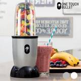 One Touch Bullet appetitissime One Touch Bullet–Frullatore con accessori, 250W, cromato