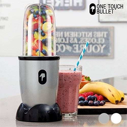 One Touch Bullet appetitissime One Touch Bullet,frullatore con accessori, 250W, cromato