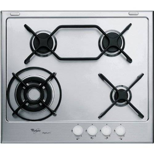 Whirlpool GMA 6444/IXL built-in Gas Stainless steel hob - Hobs (Built-in, Gas, Stainless steel, Stainless steel, Cast iron, 3700 W)