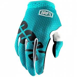 100% Guanti moto cross enduro  itrack teal