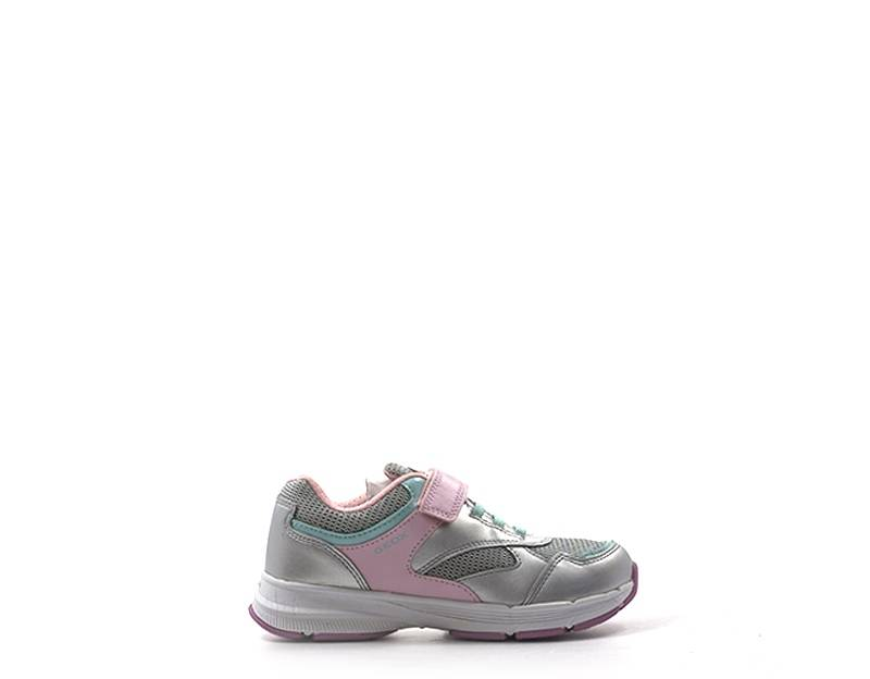 Geox Sneakers Trendy bambini argento/rosa