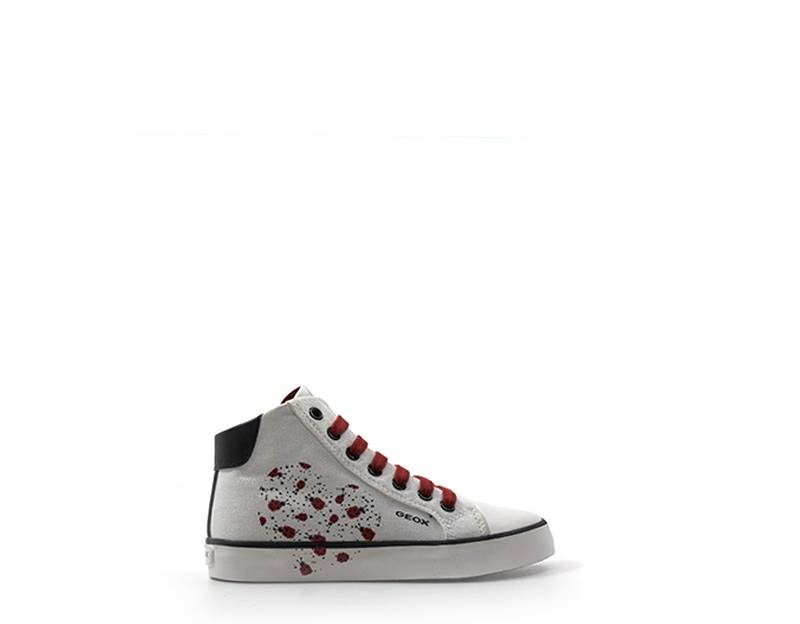 Geox Sneakers Trendy bambini bianco/rosso