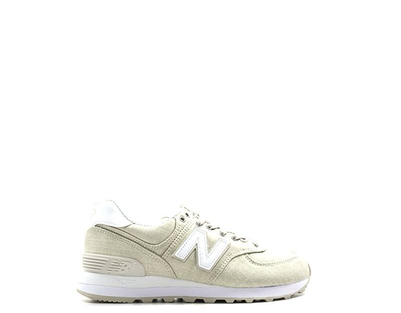 New Balance Sneakers donna donna beige