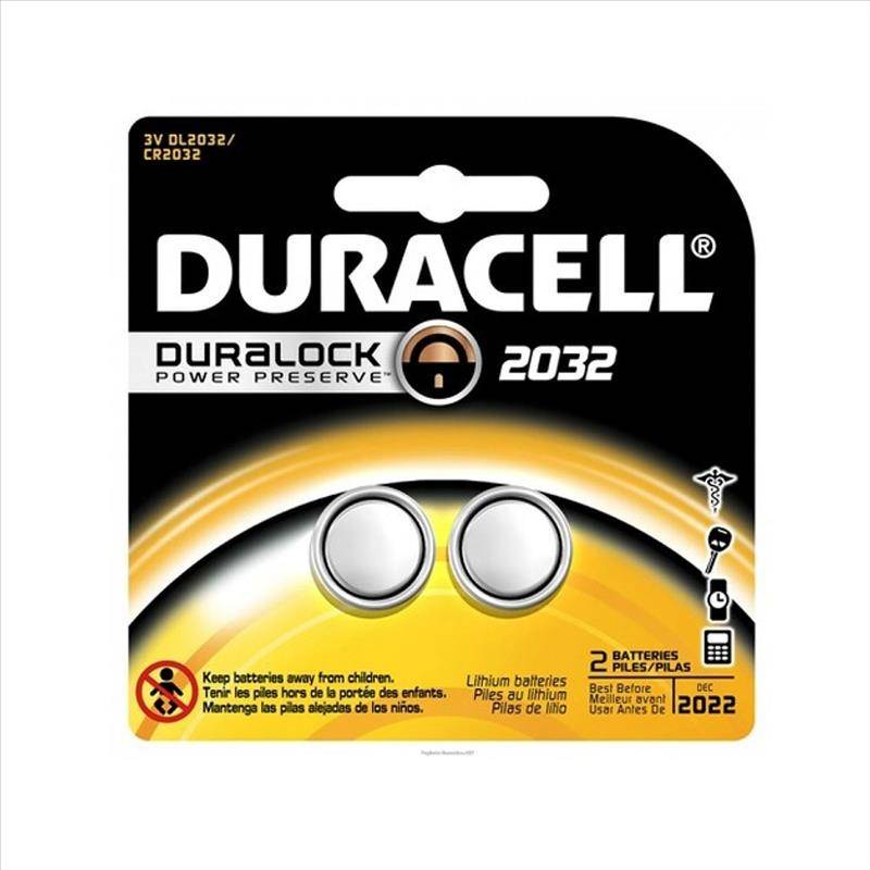 Duracell Procter & Gamble  Speciality 2032 2 Pezzi
