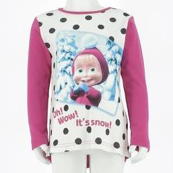 Masha And The Bear T-Shirt Bambina