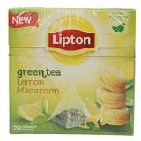 Lipton MOROCCO MINT (mint and spices) Tea Bags - 3 boxes x 20 bags = 60 pyramid tea bags