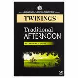 Twinings - English Afternoon Light & Refreshing 50 Bags - 125g