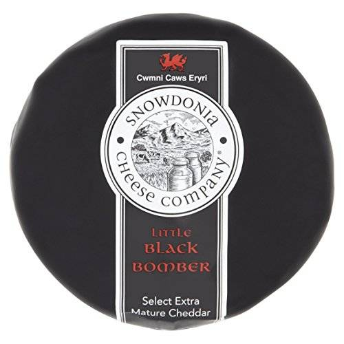 Snowdonia Cheese Company Little Black Bomber Cheese, 200 g