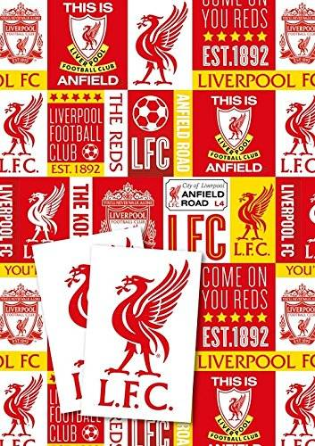 Liverpool F.C. Gift Wrap