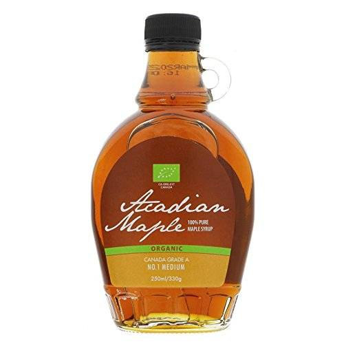 Acadian Maple Syrup 10% OFF Organic Maple Syrup Med 250 ML (order 6 for trade outer) by Acadian Maple Syrup