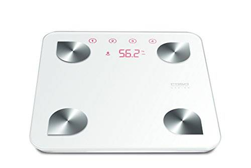 Caso BF4 Electronic personal scale Rectangle White - Personal Scales (LED, White, 320 mm, 320 mm, 30 mm, 6 mm)