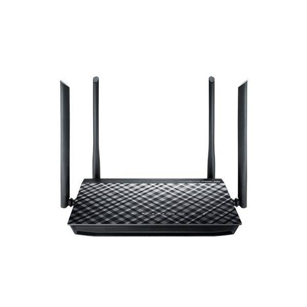 Asus Rt-Ac1200g+ Dual-Band (2.4 Ghz/5 Ghz) Gigabit Ethernet Nero Router Wireless 4712900079678 90ig0241-Bm3000 Tp2_rt-Ac1200gplus