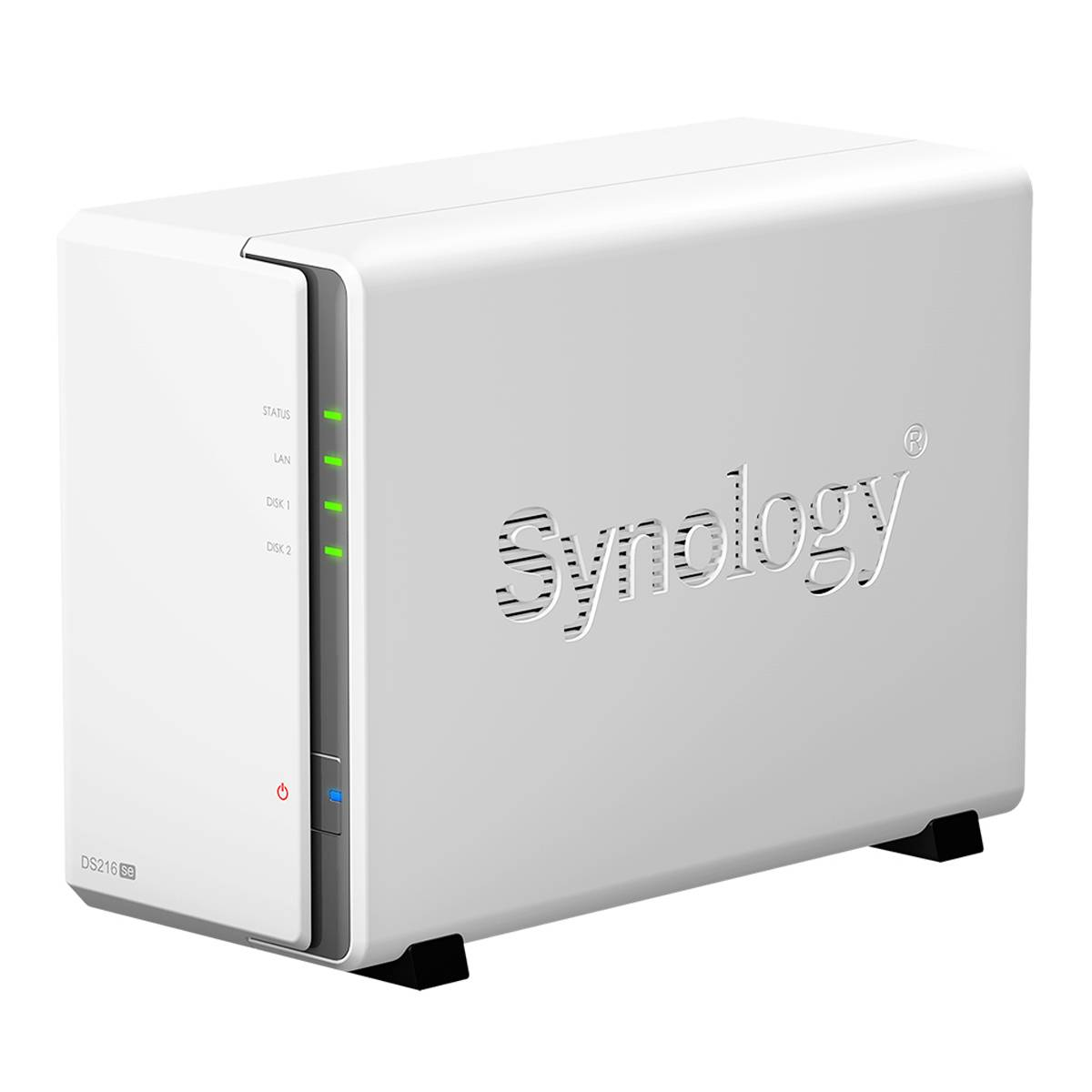 SYNOLOGY - NAS DT Synology Ds216se Nas Scrivania Collegamento Ethernet Lan Bianco Server Nas E Di Archiviazione 4711174722068 Ds216se 10_z660810