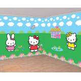 Decorazione murale Hello Kitty