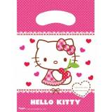 6 sacchetti regalo Hello Kitty